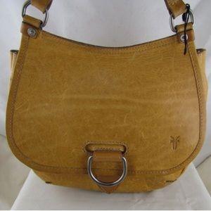 Frye Amy Vintage Leather Crossbody Saddle Bag